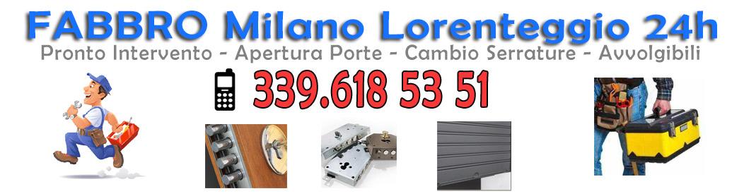 339.6185351 Fabbro Milano Lorenteggio